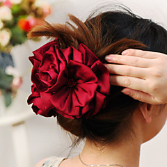 Fashion Peony Clips Large Headdress Flower(Black/Red/Purple/Coffee)