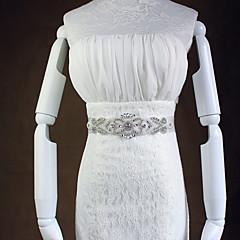 Organza / Legierung Hochzeit Schärpe Damen 150cm