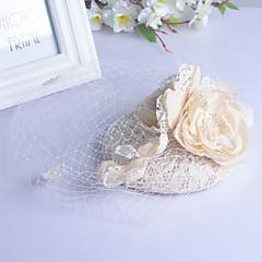 Dame Rhinestone Headpiece-Bryllup / Spesiell Leilighet Fuglebur Slør 1 Deler