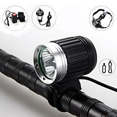 Eclairage de bicyclette - Camping/Randonnée/Spéléologie/Plongée/Plaisance/Cyclisme/Voyage/Multifonction/Escalade ( Rechargeable ) LED 4.0