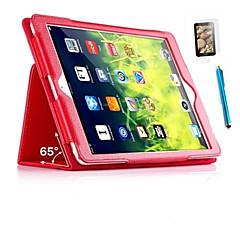 Para Antigolpes / con Soporte / Flip Funda Cuerpo Entero Funda Un Color Dura Cuero Sintético para Apple iPad Mini 4 / Mini iPad 3/2/1