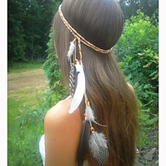Feather Headband Feather Necklace,Feather Belt,Weave Bohemian Headband,Native American,Braided Headband,Indian Headband