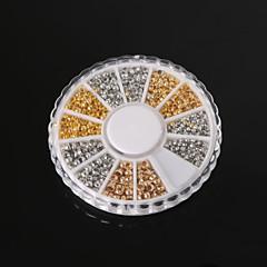 beadia ékszer eredmények válogatott mérete 2.0mm 2.5mm 3mm préselje végén gyöngyök réz kása kis távtartó gyöngyök (aprx 660pcs)