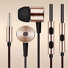 trække fiber wire 3,5 mm in-ear øretelefon headset til Samsung og andre Andriod telefoner (assorteret farve)