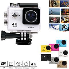 "eoscn H9 wifi 2 ""LCD 12MP Ultra HD 4k Action Camera 30m étanche w / 170 ° ultra-large objectif fish-eye"