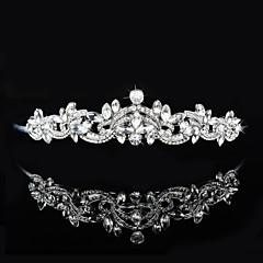 Dame / Blomsterpige Rhinestone Headpiece-Bryllup / Spesiell Leilighet Diademer / Pannebånd 1 Deler