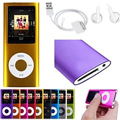 "8GB Slim Mp3 Player With 1.8"" LCD Screen FM Radio Video Games Movie"