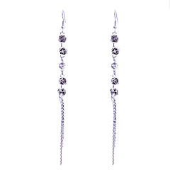 Europestyle Retro Rose Chain Drop Earrings