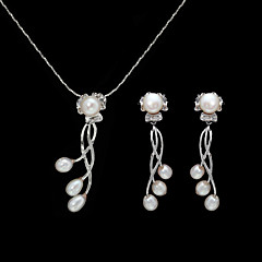 Jewelry Set Women's Anniversary / Wedding / Engagement / Birthday / Gift / Party / Special Occasion Jewelry Sets Imitation Pearl / Alloy