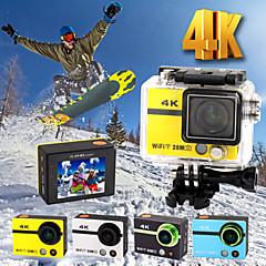 hd18plus 2 pouces action wifi webcams HD 4k ultra 20.0MP 1080p caméra 170 degrés caméscope DVR avec télécommande