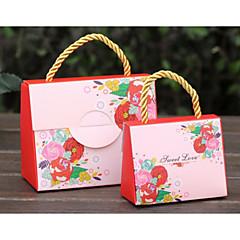 12 Stück / Set zugunsten Halter - kreative Karte Papier Geschenk-Boxen nicht personalisierte 5.5 * 11 * 9cm