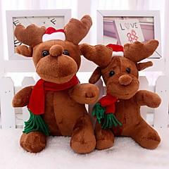 santa claus milu Hirsche Plüschtiere Weihnachts-Hirsche Puppe für Weihnachten