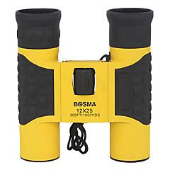 BOSMA 12 25 mm משקפת Roofנרתיק נשיאה / הגג Prism / חדות גבוהה HD / זויית רחבה / Eagle Vision / היקף ייכון / Waterproof / מזג אוויר עמיד /