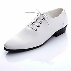 Men's Shoes Wedding / Party & Evening / Casual Leather Oxfords Black / White / Fuchsia / Orange