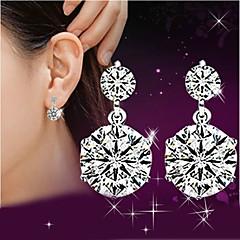 Žene Viseće naušnice imitacija Diamond Slatka Style luksuzni nakit kostim nakit Plastika Kristal Umjetno drago kamenje Jewelry Za