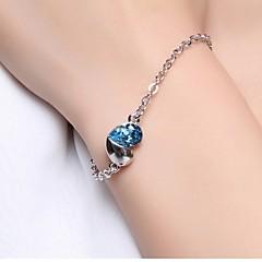Damen Ketten- & Glieder-Armbänder Einzigartiges Design Liebe Modeschmuck Sterling Silber Liebe Schmuck Für Hochzeit Party Alltag Normal