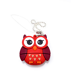 cartoon uil dier usb flash drive 8gb