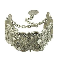 Bracelet Chaîne Argenté Sans pierre Femme