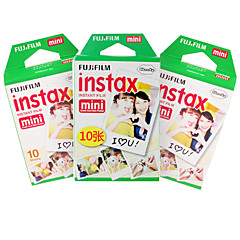 ny FUJIFILM Instax mini film 30 ark vanlig edge instant bilder for kamera mini 7s 8 25 50 90