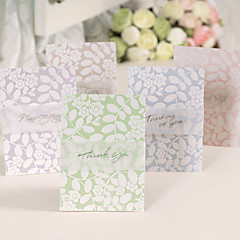 Non-personalized Side Fold Wedding Invitations Greeting Cards / Thank You Cards-1 Piece/Set Pearl Paper