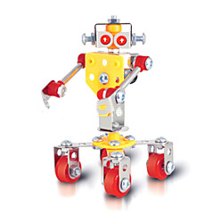 Robot sluga zagonetke čarobni legure modela DIY igračke modeliranje igračke