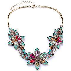 Žene Ogrlice s privjeskom Izjava Ogrlice imitacija Diamond Legura Moda zaslon u boji Jewelry Special Occasion Rođendan