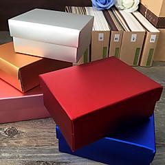 Caixas de Presente ( Dourado / Lilás / Prateado / Vermelho / Azul , Papel de Cartão ) Tema Clássico - não-personalizado