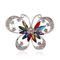 Femme Européen bijoux de fantaisie Bijoux Fantaisie Mode Bijoux de Luxe Personnalisé Gemme Acrylique Strass Plaqué argent Imitation