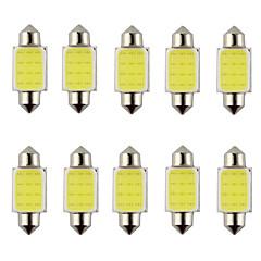 10ks podlouhlá 31 mm 36 mm 39 mm 3 w 240lm 6000K klasu LED bílé světlo pro automobilový řízení žárovky / čtecí lampa (DC12V)