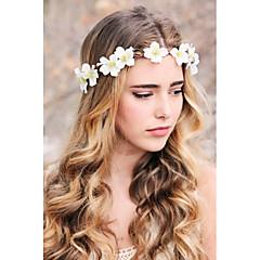 Bruiloft / Feest / Dagelijks / Causaal / n.v.t.-Haarbanden / Fascinators / Hoofd Sieraden(Stof,Wit)
