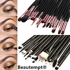 20Set di pennelli / Pennello per cipria / Pennello per ombretto / Pennello per labbra / Pennello sopracciglia / Pennello applicatore per