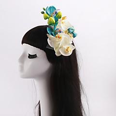 Femme / Jeune bouquetière Tulle / Tissu Casque-Mariage / Occasion spéciale / Décontracté / Extérieur Fleurs 1 Pièce