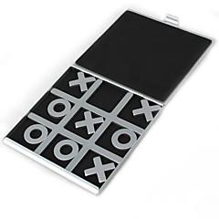 reiser tic tac toe aluminium brettspill