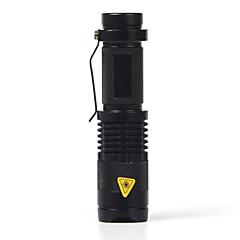 LED Lommelygter LED 1 Modus 2000 LumensJusterbart Fokus / Vandtæt / Nedslags Resistent / Strike Bezel / Klemme / Nødsituasjon / Liten