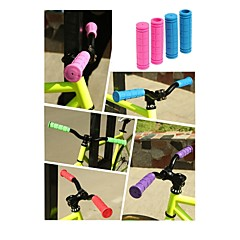 Silicone Handlebar Grips Fixed Gear Bike Grips Colored Soft Rubber Sleeve Bicycle Handlebar Grips