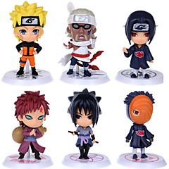 Naruto Monkey D. Luffy PVC Anime Action Figurer Modell Leker Doll Toy