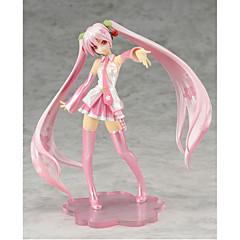 Vokaloid Hatsune Miku PVC One Size Anime Action Figurer Modell Leker Doll Toy