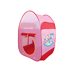 gyermek játszóház játékok kültéri sátorban.