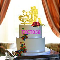 Cake Toppers  Kissing Lovers 3 Colors