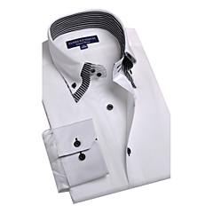 JamesEarl Heren Overhemdkraag Lange mouw Shirt & Blouse Ivoor - BA102050525