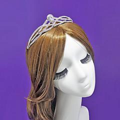 Gorgerous Cubic/Rhinestone / Alloy Zirconia Headpiece-Wedding / Special Occasion Tiaras