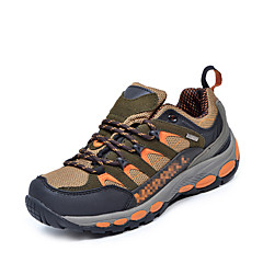 Mens Leather Breathable Outdoor Shoes Hiking Shoes