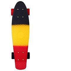 22 tuumaa Standardi Skateboards PP (polypropeeni) Abec-11 Sateenkaari