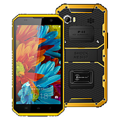 "Kenxinda W9 Proofings 6.0 "" Android 5.1 4G Smartphone (Dual SIM Octa Core 1.3 MP 2GB + 16 GB Grey / Yellow)"