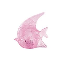 פאזלים פאזלים3D / פאזלים מקריסטל אבני בניין צעצועי DIY דגים ABS תפוז צעצוע בניה ודגם