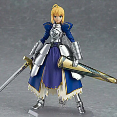 Fate / Stay Night Säbel-PVC 14cm Anime-Action-Figuren schöne Puppe Spielzeug Modell Anime-Action-Figur