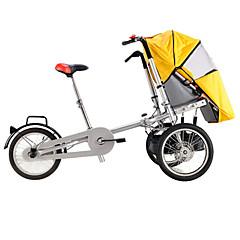 Falträder Radsport 16 Zoll Herren / Damen / Unisex Kinder Doppelte Scheibenbremsen Ordinär Faltbar gewöhnlich Stahl Rot / Gelb / Blau