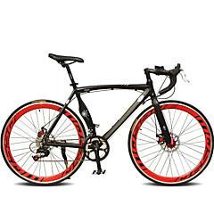 ロードバイク サイクリング 7スピード 26 inch/700CC SHIMANO TX30 ダブルディスクブレーキ 普通 モノコック 普通