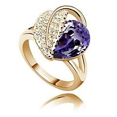Gyűrűk Állítható Parti Ékszerek Ezüstözött Női Vallomás gyűrűk 2pcs,Egy méret Ezüst