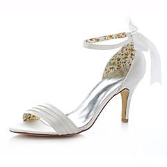 סנדלים-נשים-נעלי חתונה-עקבים-חתונה / שמלה / מסיבה וערב-שנהב